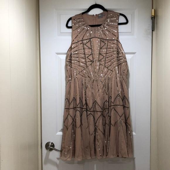 Plus size dress Art Deco style
